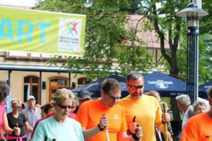 14. Deutscher Walking-Tag in der Kurstadt