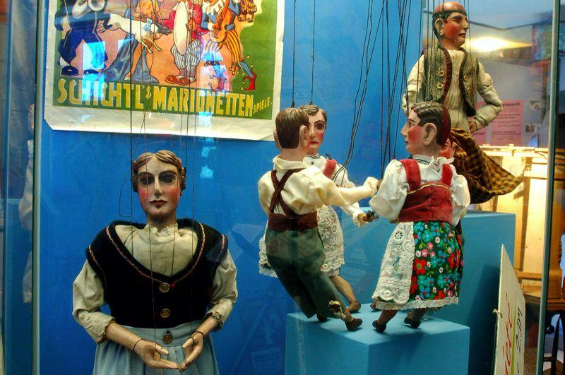 Wandermarionetten Kreismuseum (Foto K. Uschner)
