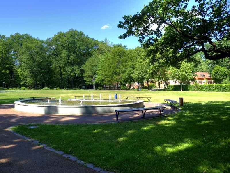 Kurpark Brunnen