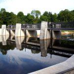 Brücke am Wehr