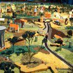 plastische Landkarte