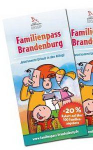 Familienpass Brandenburg 2018-2019