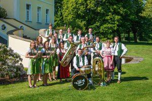 Schlossberg-Musikanten am 24. Juni zu Gast in der Kurstadt