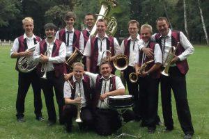 Original Berstetaler Blasmusikanten am 08.07.2018 zu Gast im Kurpark
