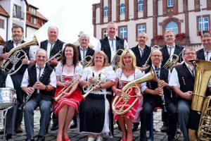 15. Kurkonzert im Kurpark zu Gast die Kemmlitzer Blasmusikanten