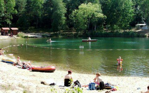 Baden und Camping in Zeischa