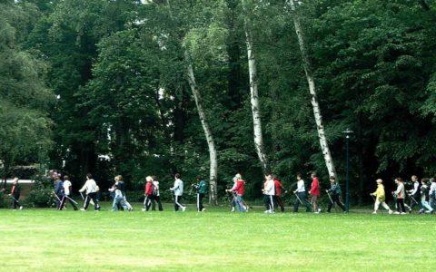 Nordic Walking durch den Kurpark
