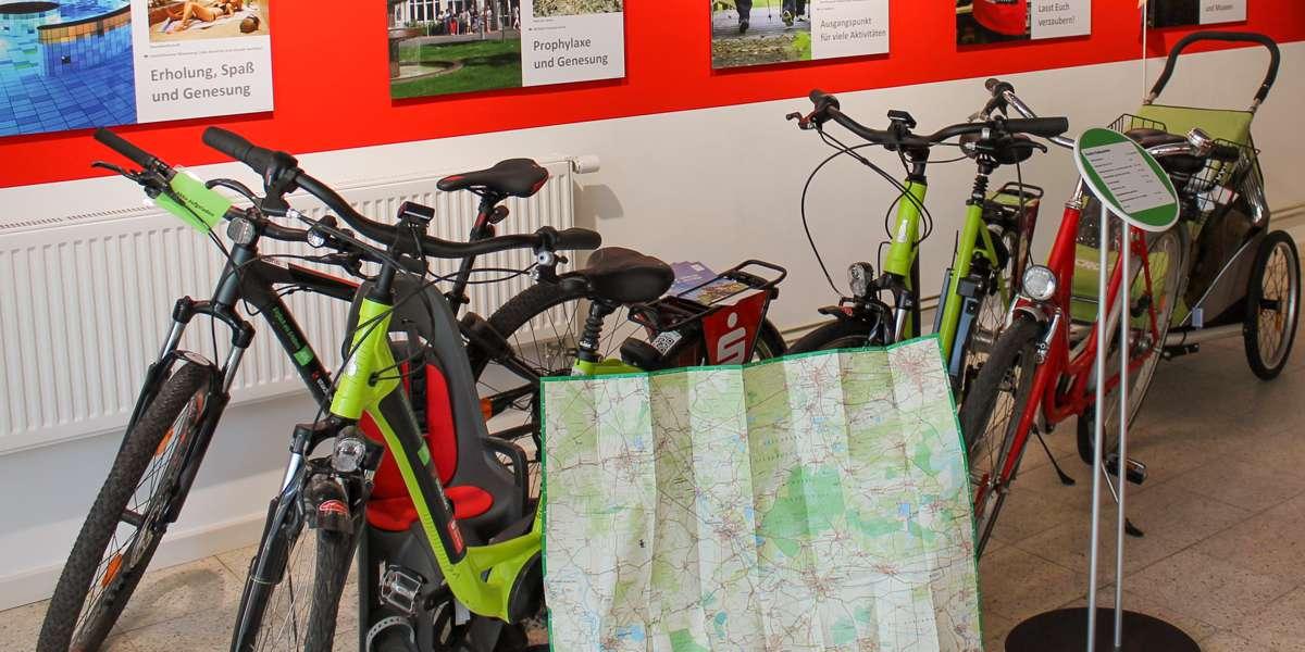 E-Bike und Fahrradverleih