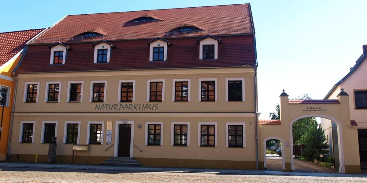 Infopunkt Naturparkhaus Barrierefrei