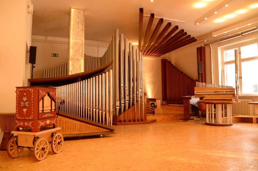 Kammermusiksaal in der Orgelakademie