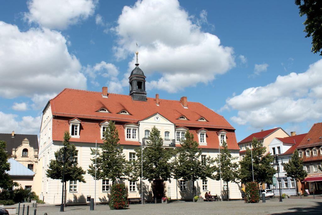 Stadtrundgang Markt mit Rathaus