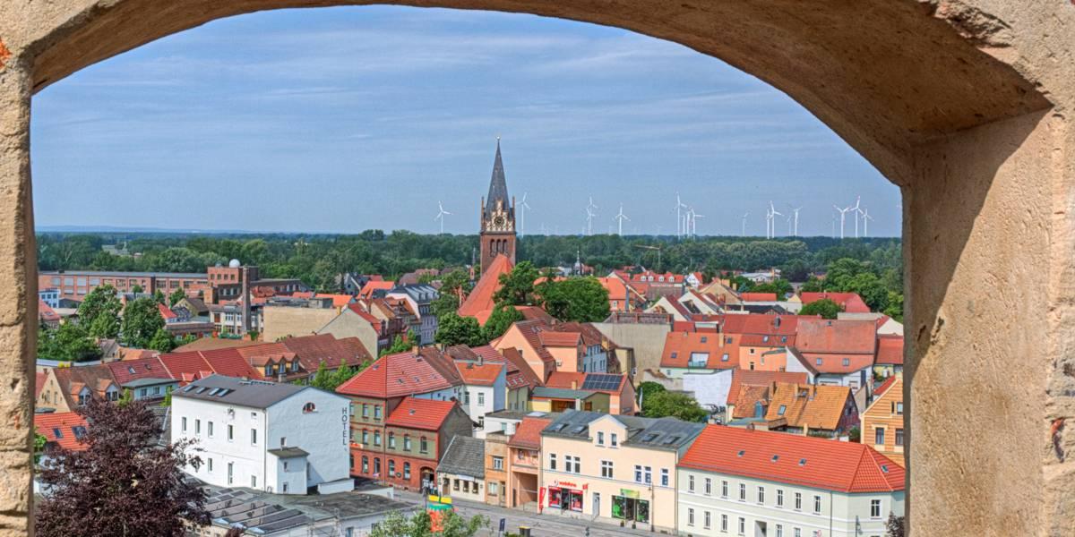 Blick vom Lubwartturm Bad Liebenwerda