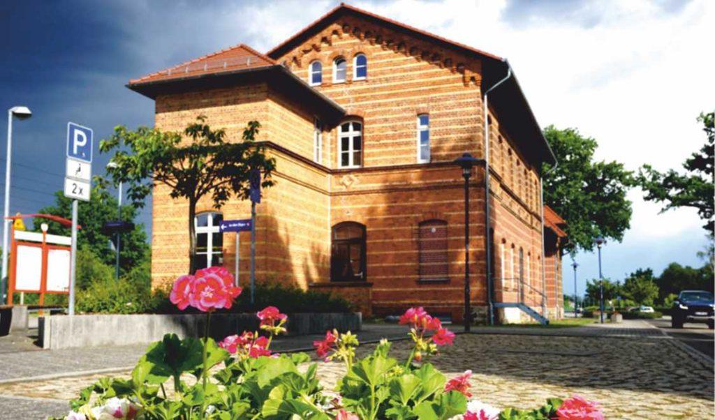 Der Bahnhof Bad Liebenwerda